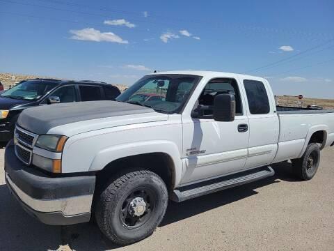 2005 Chevrolet Silverado 2500HD for sale at PYRAMID MOTORS - Pueblo Lot in Pueblo CO
