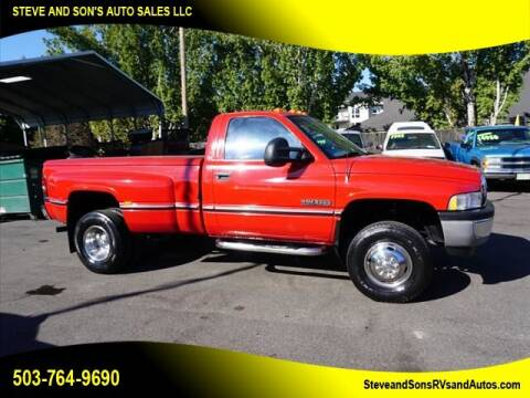 1995 Dodge Ram Pickup 3500 for sale at Steve & Sons Auto Sales in Happy Valley OR