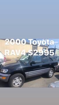 2000 Toyota RAV4 for sale at Debo Bros Auto Sales in Philadelphia PA