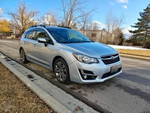 2016 Subaru Impreza for sale at A.I. Monroe Auto Sales in Bountiful UT