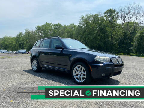 2008 BMW X3 for sale at QUALITY AUTOS in Newfoundland NJ