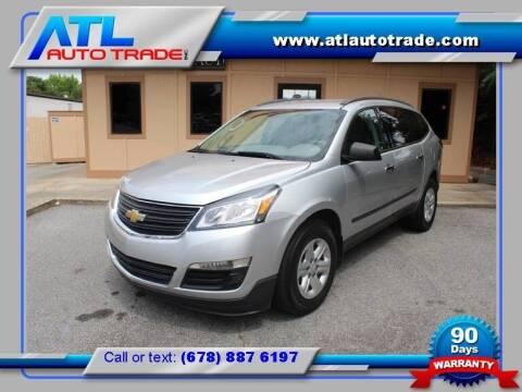 2015 Chevrolet Traverse for sale at ATL Auto Trade, Inc. in Stone Mountain GA