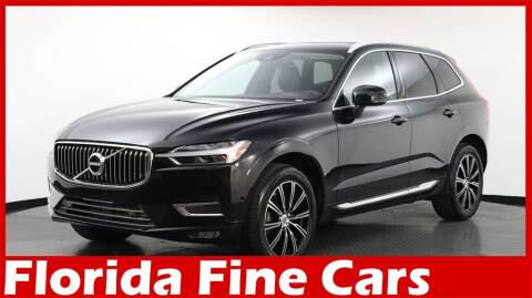 2018 Volvo XC60 for sale at Florida Fine Cars - West Palm Beach in West Palm Beach FL