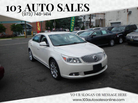 2011 Buick LaCrosse for sale at 103 Auto Sales in Bloomfield NJ