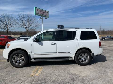 2012 Nissan Armada for sale at Revolution Motors LLC in Wentzville MO