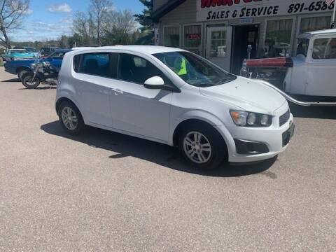 2013 Chevrolet Sonic for sale at Hartley Auto Sales & Service in Milton VT