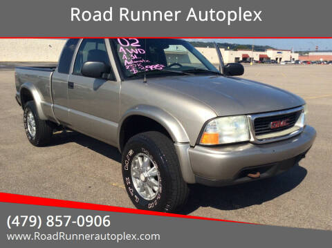 2002 GMC Sonoma for sale at Road Runner Autoplex in Russellville AR