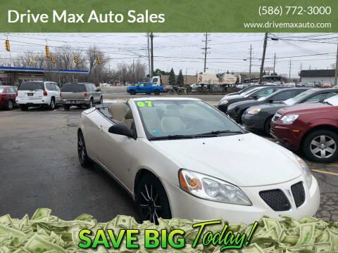 2007 Pontiac G6 for sale at Drive Max Auto Sales in Warren MI