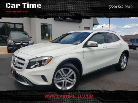 2017 Mercedes-Benz GLA for sale at Car Time in Denver CO