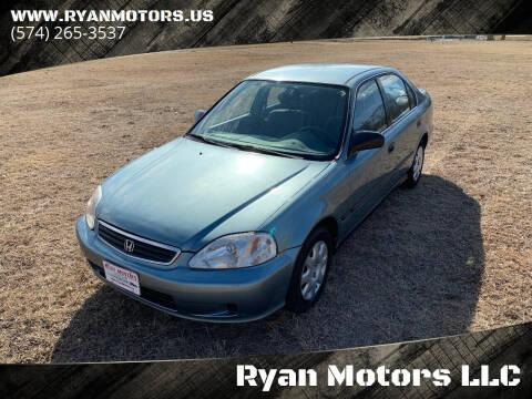 2000 Honda Civic for sale at Ryan Motors LLC in Warsaw IN