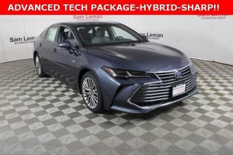 2021 Toyota Avalon Hybrid for sale at Sam Leman Toyota Bloomington in Bloomington IL