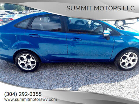 2011 Ford Fiesta for sale at Summit Motors LLC in Morgantown WV