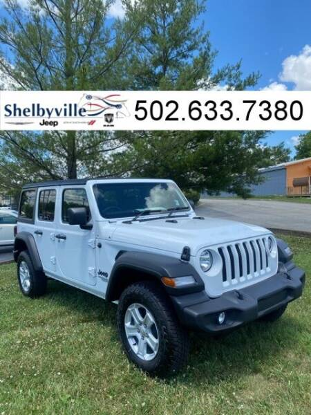 2021 Jeep Wrangler Unlimited for sale in Shelbyville, KY