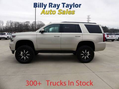 2015 Chevrolet Tahoe for sale at Billy Ray Taylor Auto Sales in Cullman AL