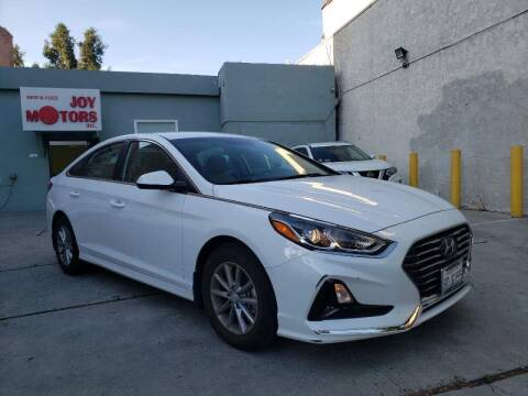 2018 Hyundai Sonata for sale at Joy Motors in Los Angeles CA