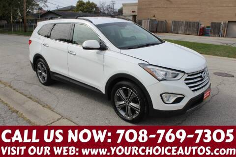 2013 Hyundai Santa Fe for sale at Your Choice Autos in Posen IL