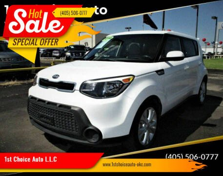 2014 Kia Soul for sale at 1st Choice Auto L.L.C in Oklahoma City OK