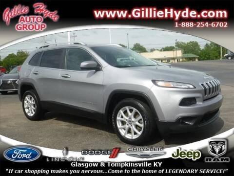 2017 Jeep Cherokee for sale at Gillie Hyde Auto Group in Glasgow KY