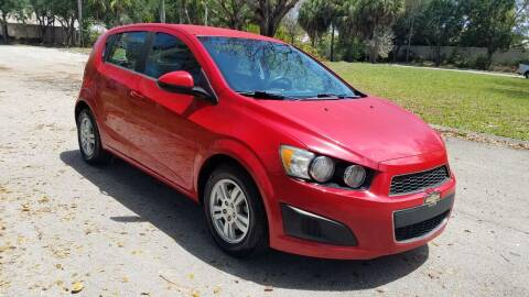 2013 Chevrolet Sonic for sale at DELRAY AUTO MALL in Delray Beach FL