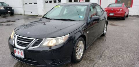 2008 Saab 9-3 for sale at Union Street Auto in Manchester NH