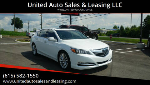 2014 Acura RLX for sale at United Auto Sales & Leasing LLC in La Vergne TN