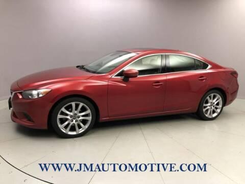2015 Mazda MAZDA6 for sale at J & M Automotive in Naugatuck CT