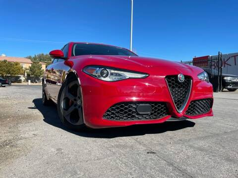 2018 Alfa Romeo Giulia for sale at Boktor Motors in Las Vegas NV