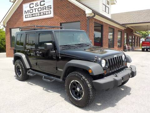 2010 Jeep Wrangler Unlimited for sale at C & C MOTORS in Chattanooga TN