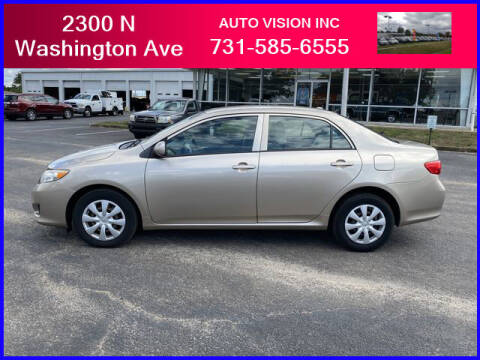 2010 Toyota Corolla for sale at Auto Vision Inc. in Brownsville TN