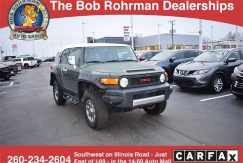 2010 Toyota FJ Cruiser for sale at BOB ROHRMAN FORT WAYNE TOYOTA in Fort Wayne IN