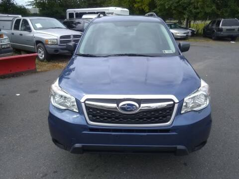 2016 Subaru Forester for sale at Wilson Investments LLC in Ewing NJ