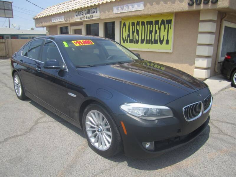 2011 BMW 5 Series for sale at Cars Direct USA in Las Vegas NV