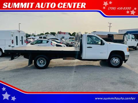 2014 GMC Sierra 3500HD CC for sale at SUMMIT AUTO CENTER in Summit IL
