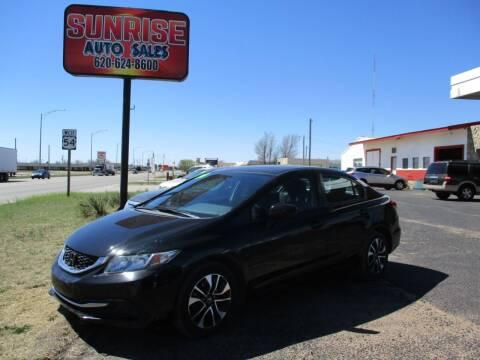 2014 Honda Civic for sale at Sunrise Auto Sales in Liberal KS