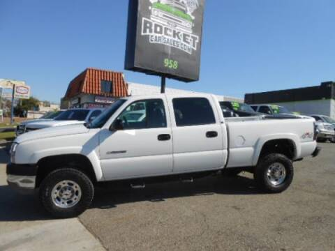 2004 Chevrolet Silverado 2500HD for sale at Rocket Car sales in Covina CA