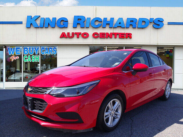 2016 Chevrolet Cruze for sale at KING RICHARDS AUTO CENTER in East Providence RI