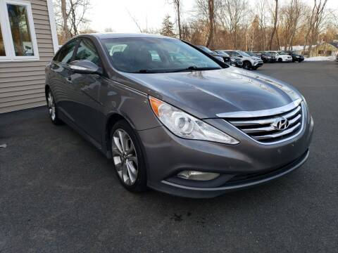 2014 Hyundai Sonata for sale at KLC AUTO SALES in Agawam MA