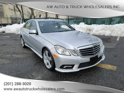 2011 Mercedes-Benz E-Class for sale at AW Auto & Truck Wholesalers  Inc. in Hasbrouck Heights NJ