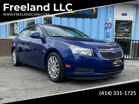 2012 Chevrolet Cruze for sale at Freeland LLC in Waukesha WI
