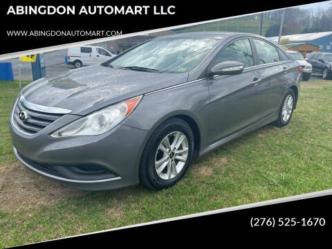 2014 Hyundai Sonata for sale at ABINGDON AUTOMART LLC in Abingdon VA