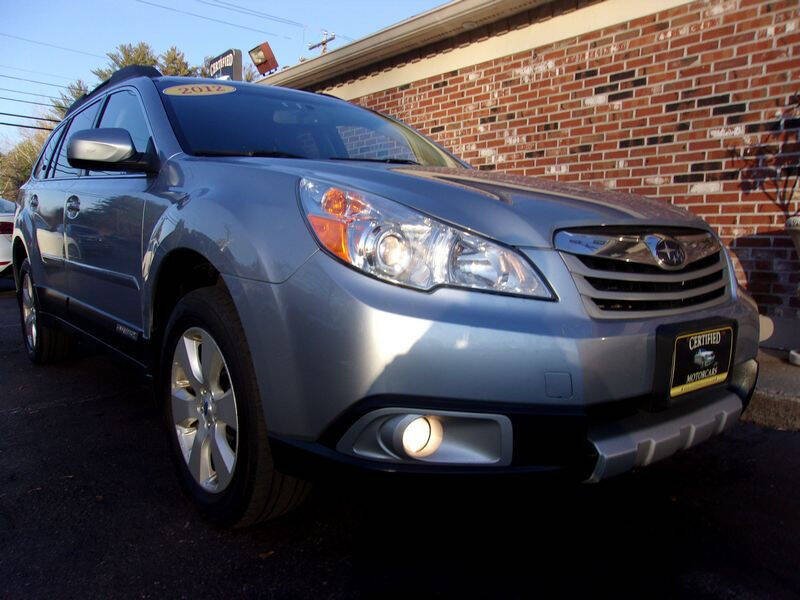 2012 Subaru Outback for sale at Certified Motorcars LLC in Franklin NH