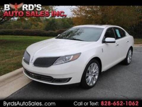 2015 Lincoln MKS for sale at Byrds Auto Sales in Marion NC