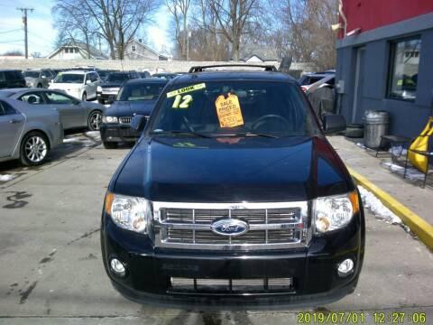 2012 Ford Escape for sale at Carmen's Auto Sales in Hazel Park MI