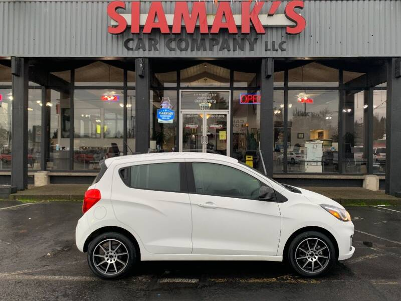 2020 Chevrolet Spark for sale at Siamak's Car Company llc in Salem OR