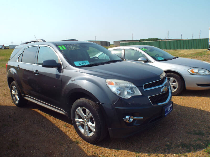 2011 Chevrolet Equinox for sale at G & K Supreme in Canton SD