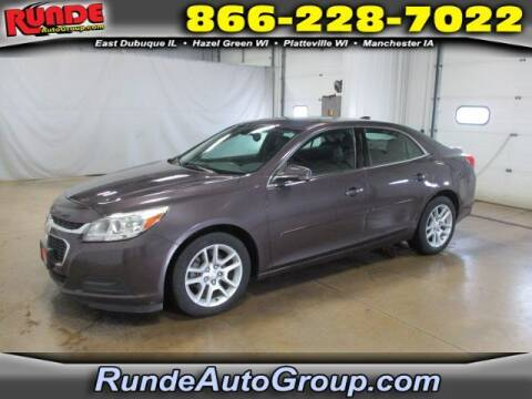2015 Chevrolet Malibu for sale at Runde Chevrolet in East Dubuque IL
