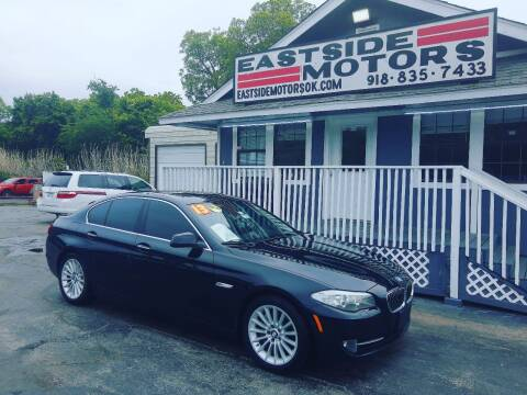 2013 BMW 5 Series for sale at EASTSIDE MOTORS in Tulsa OK