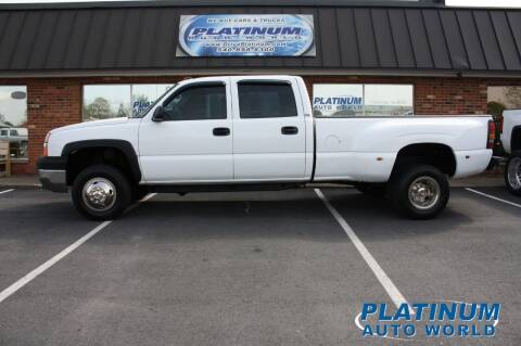 2004 Chevrolet Silverado 3500 for sale at Platinum Auto World in Fredericksburg VA