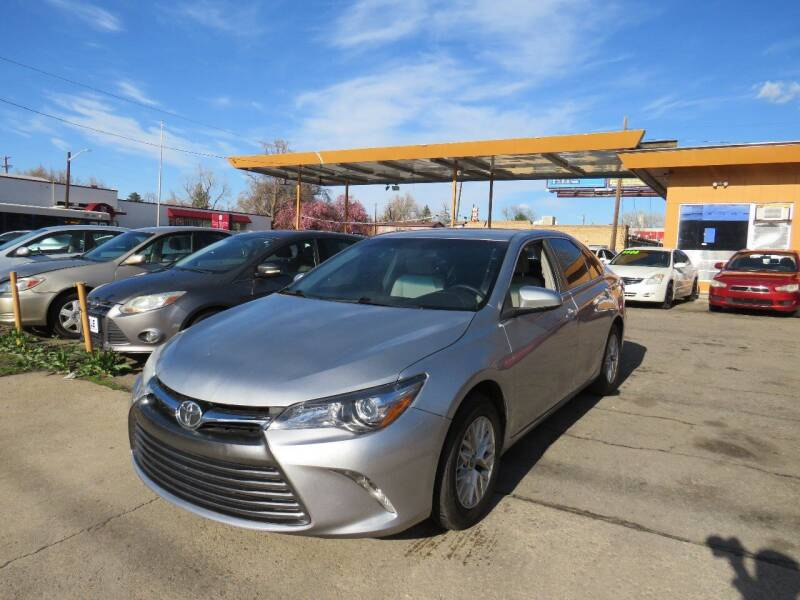 2017 Toyota Camry for sale at Nile Auto Sales in Denver CO