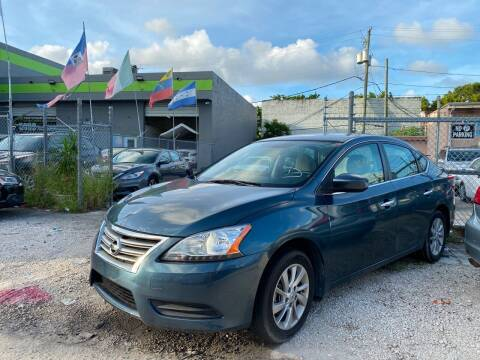 2015 Nissan Sentra for sale at Eden Cars Inc in Hollywood FL